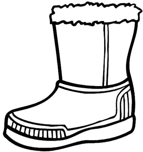 Clipart snoboots clipart black and white library Free Snow Boots Cliparts, Download Free Clip Art, Free Clip Art on ... clipart black and white library