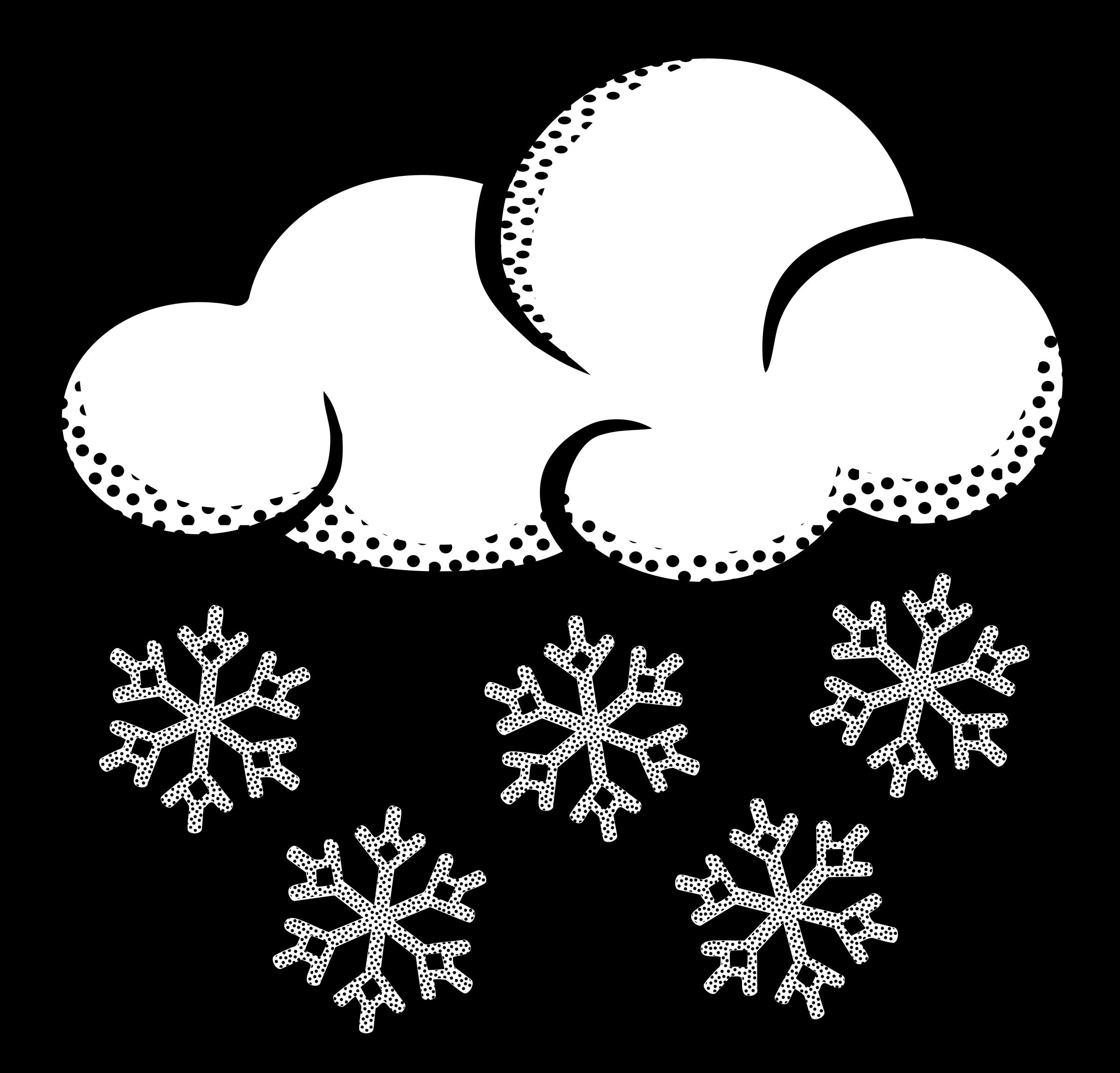 Clipart snowing banner transparent download Snow cloud clipart 2 - Cliparting.com banner transparent download