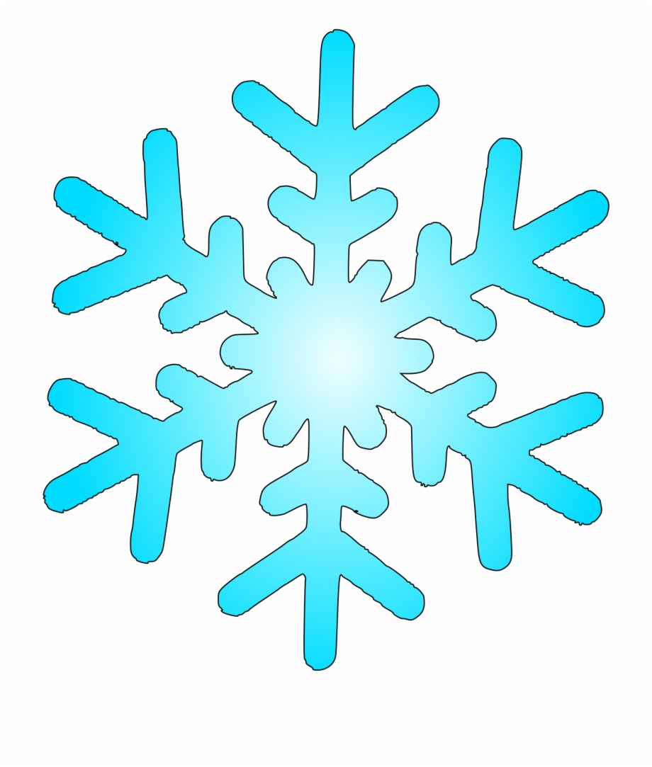 Snowglake clipart vector transparent Snow Flake 4 Within Snow Clipart - Winter Snowflake Clipart Free PNG ... vector transparent