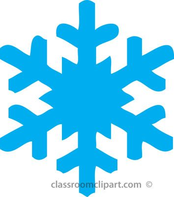 Snowglake clipart clip transparent stock snowflake clipart | Classroom Clipart : Free Weather Clipart ... clip transparent stock