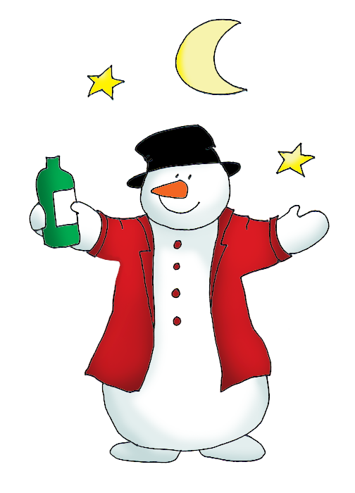 Snowman Clipart clip black and white download