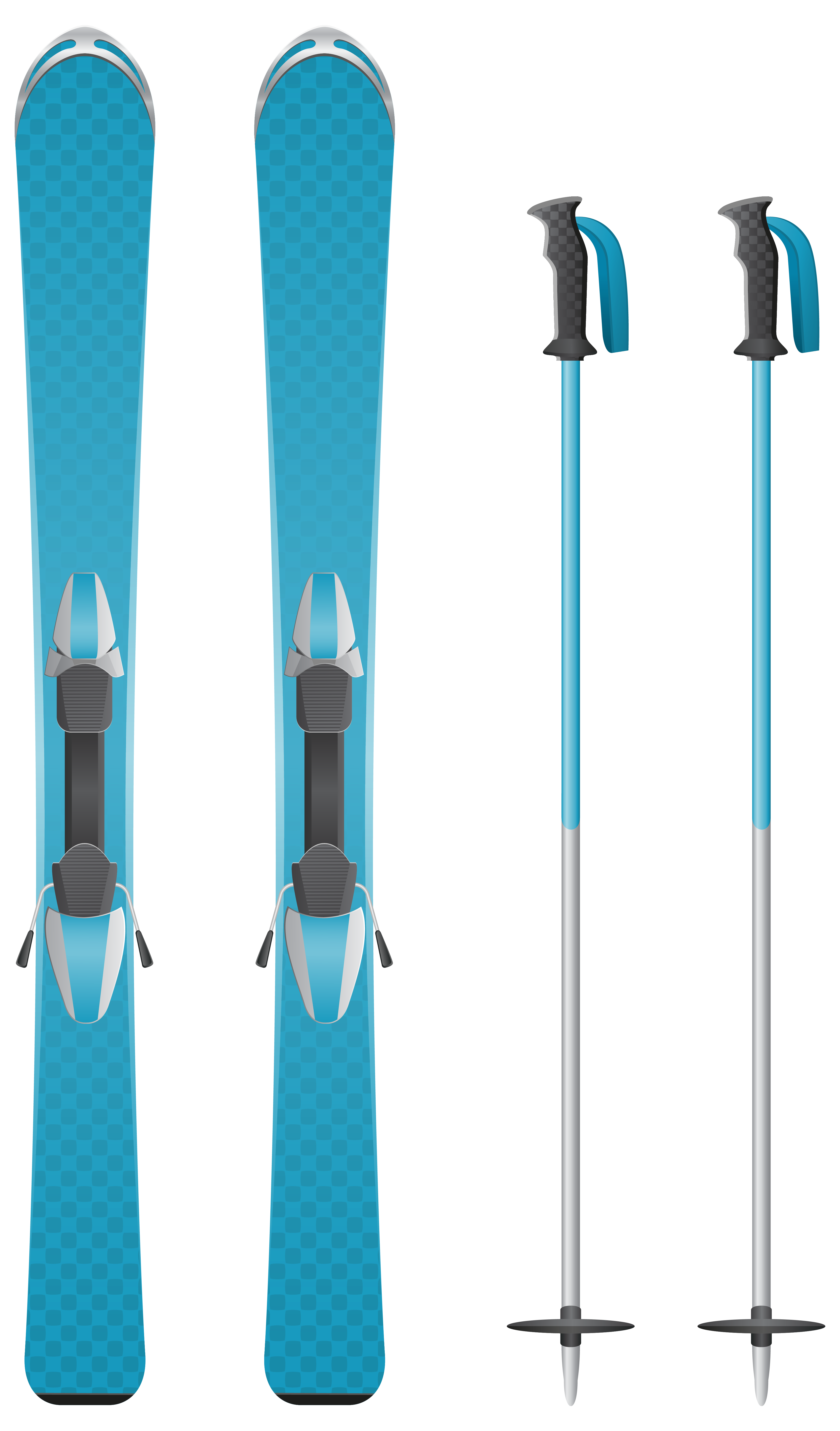 Blue Skis PNG Clipart Image | Gallery Yopriceville - High-Quality ... clip royalty free download