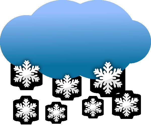 Clipart snowy clipart freeuse download Snow Clouds Clip Art at Clker.com - vector clip art online, royalty ... clipart freeuse download
