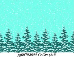 Clipart snowing image black and white stock Snowing Clip Art - Royalty Free - GoGraph image black and white stock
