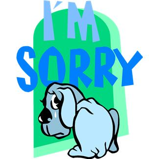 Sorry clipart images