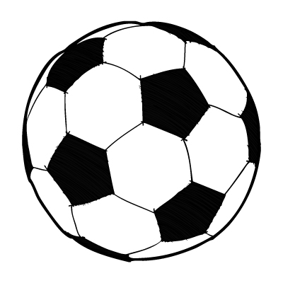 Clipart soccer ball jpg royalty free download Clipart soccer ball free - ClipartFest jpg royalty free download