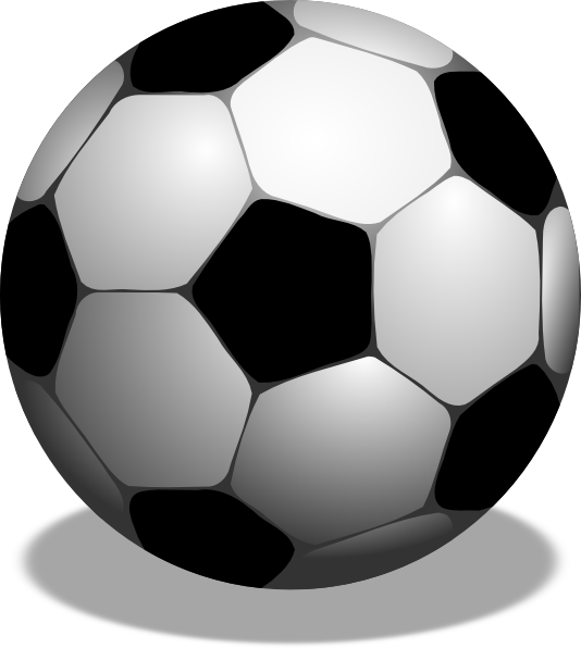 Clipart soccer ball free - ClipartFest svg library library
