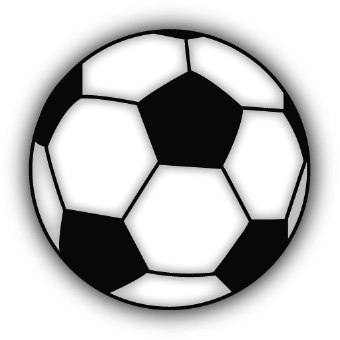 Clipart soccer ball free vector black and white download Free printable clip art soccer ball - ClipartFest vector black and white download