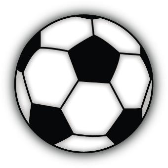 Clipart soccer ball free. Printable clip art clipartfest