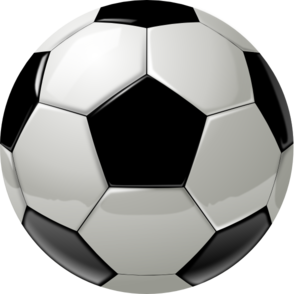 Clipart soccer ball free stock Free clip art soccer ball border - ClipartFest stock