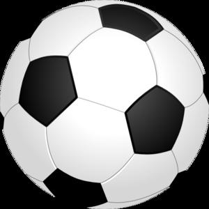 Clipart soccer ball free. Vector clipartfest clip art