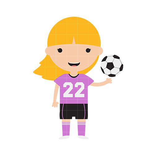 Clipart soccer girl clip freeuse stock Free Girls Soccer Cliparts, Download Free Clip Art, Free Clip Art on ... clip freeuse stock