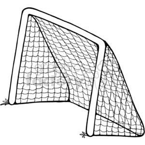 Soccer goal post clipart image library stock Soccer-Goal clipart. Royalty-free clipart # 380230 image library stock
