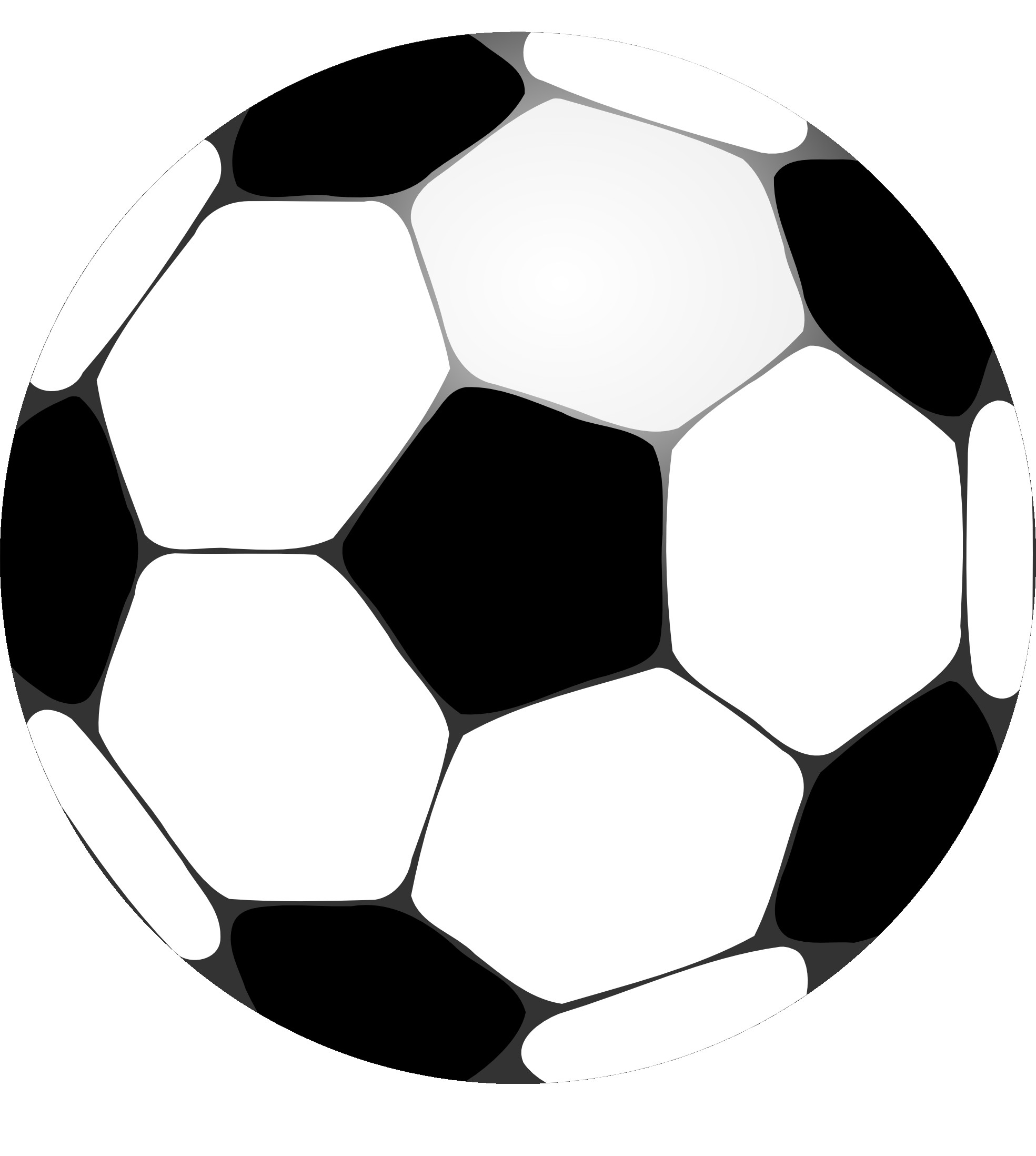 Clipart soccer pics in black and white clip free library Free Black And White Football Clipart, Download Free Clip Art, Free ... clip free library