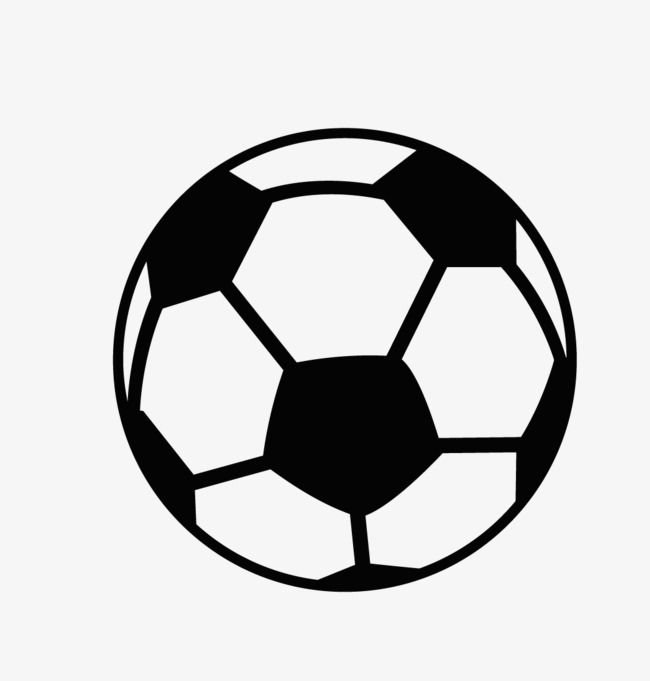 Clipart soccer pics in black and white jpg black and white stock Cartoon Black And White Football Logo, Football Clipart, Logo ... jpg black and white stock