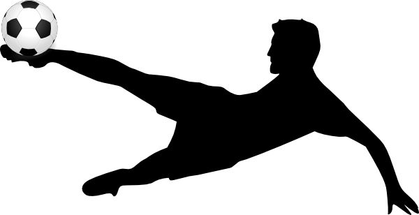 Clipart soccer player no ball. With clipartfest