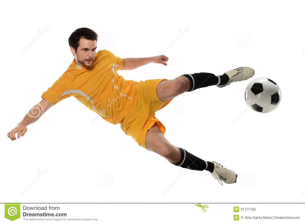 Clipart soccer player no ball. Clipartfox kicking