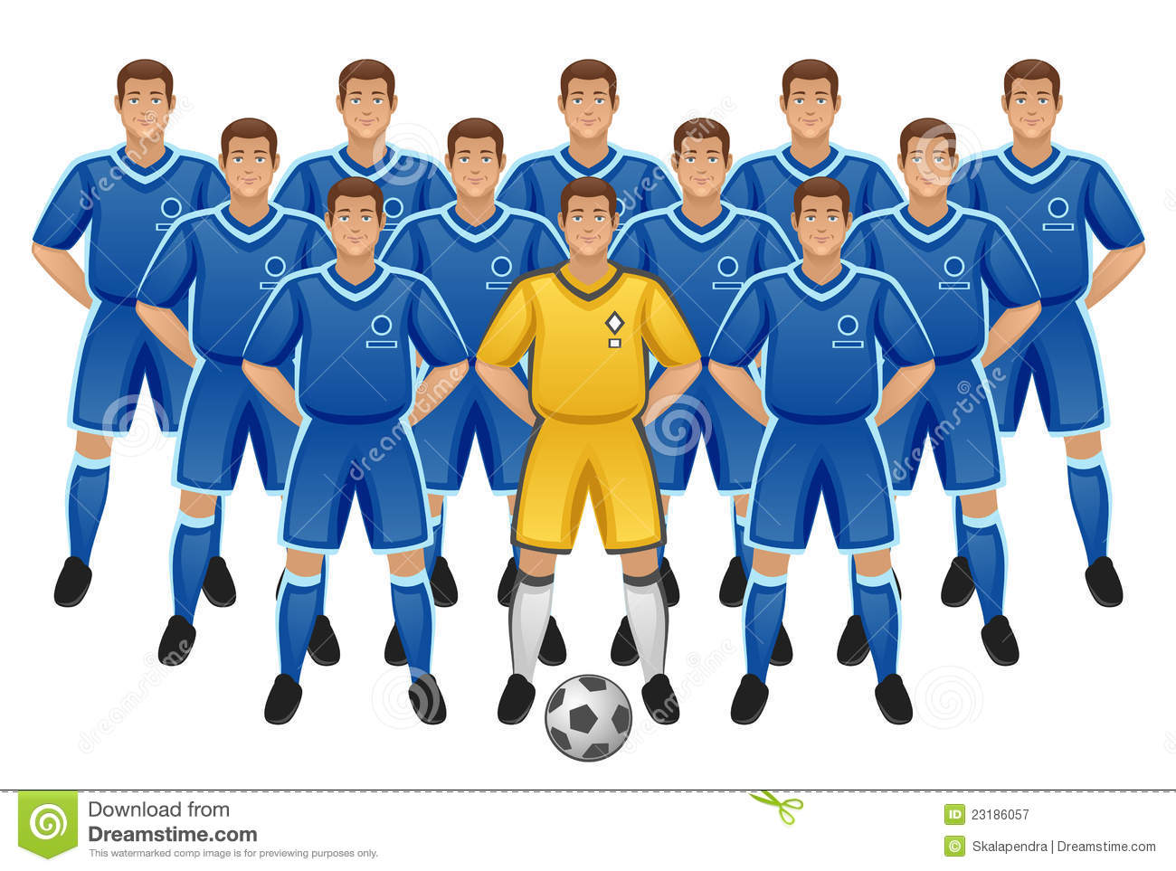 Clipart soccer team banner download Soccer Team Royalty Free Stock Photography Image: 23186057 - Free ... banner download