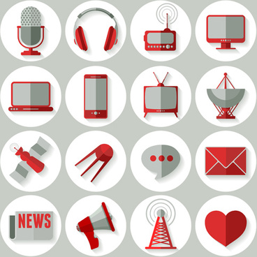 Clipart social media icons. Clip art free vector