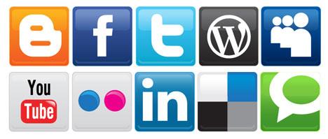 Clipart social media icons. Logo kid home clip