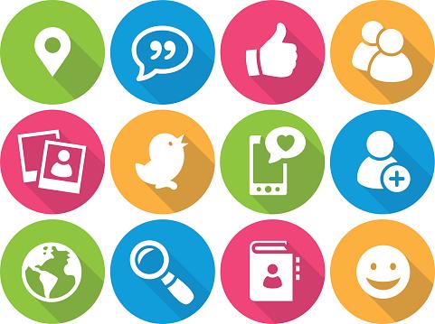 Clipart social media icons. Clip art clipartfest iconset