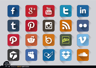 Clipart social media icons image free Clipart social media icons - ClipartFest image free