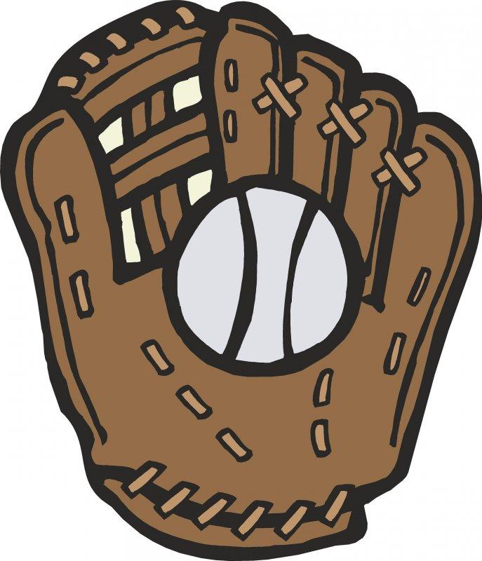 Clipart softball glove image stock 85+ Baseball Glove Clip Art   ClipartLook image stock
