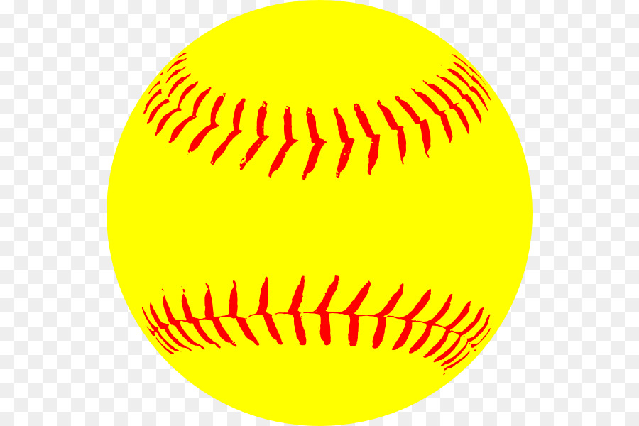 Clipart softball pictures picture library Yellow Circle clipart - Softball, Baseball, Ball, transparent clip art picture library