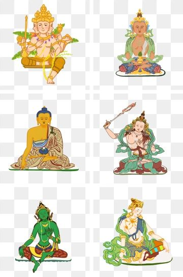Clipart solemn banner stock 2019 的 Buddha Statue Solemn Buddha Statue Hand Drawn Illustration ... banner stock