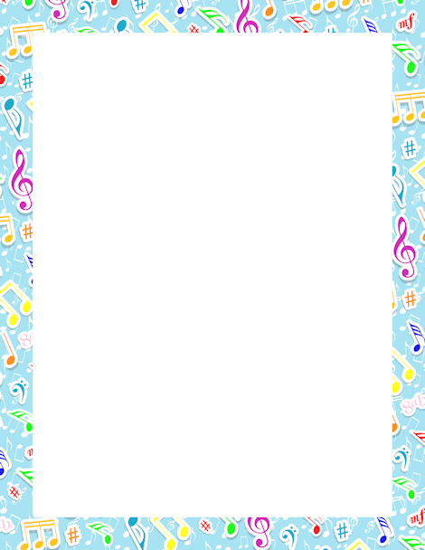 Clipart solid powder blue letterhead stationary borders clipart download Pin by Muse Printables on Page Borders and Border Clip Art | Border ... clipart download
