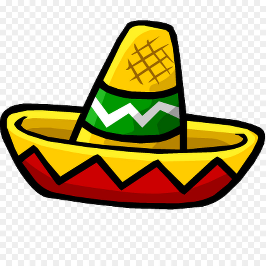 Clipart sombrero hat image library download Hat Cartoon clipart - Sombrero, Hat, Mexico, transparent clip art image library download