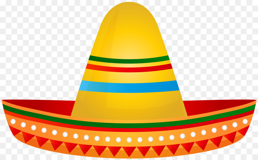 Clipart sombrero hat jpg royalty free stock Party Hat Cartoon png download - 8000*4970 - Free Transparent ... jpg royalty free stock