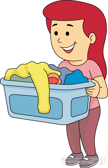 Clipart someone doing chores image transparent 5+ Chores Clipart | ClipartLook image transparent