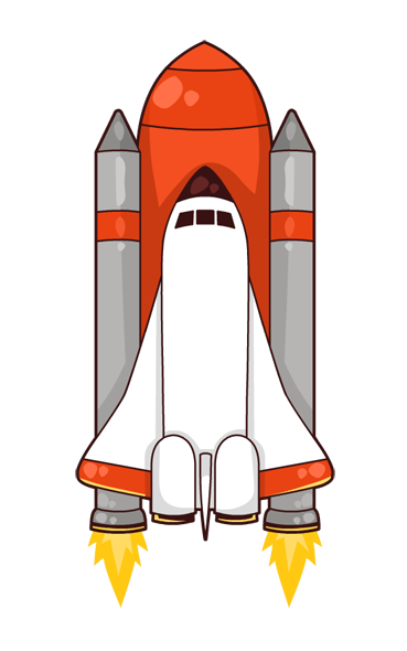 Clipart space shuttle banner royalty free library 38+ Space Shuttle Clip Art | ClipartLook banner royalty free library