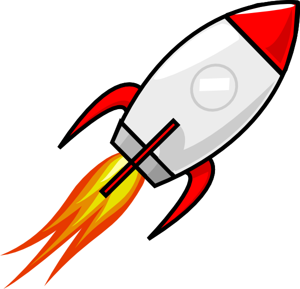 Small spaceship clipart black and white library Spaceship Clip Art at Clker.com - vector clip art online, royalty ... black and white library