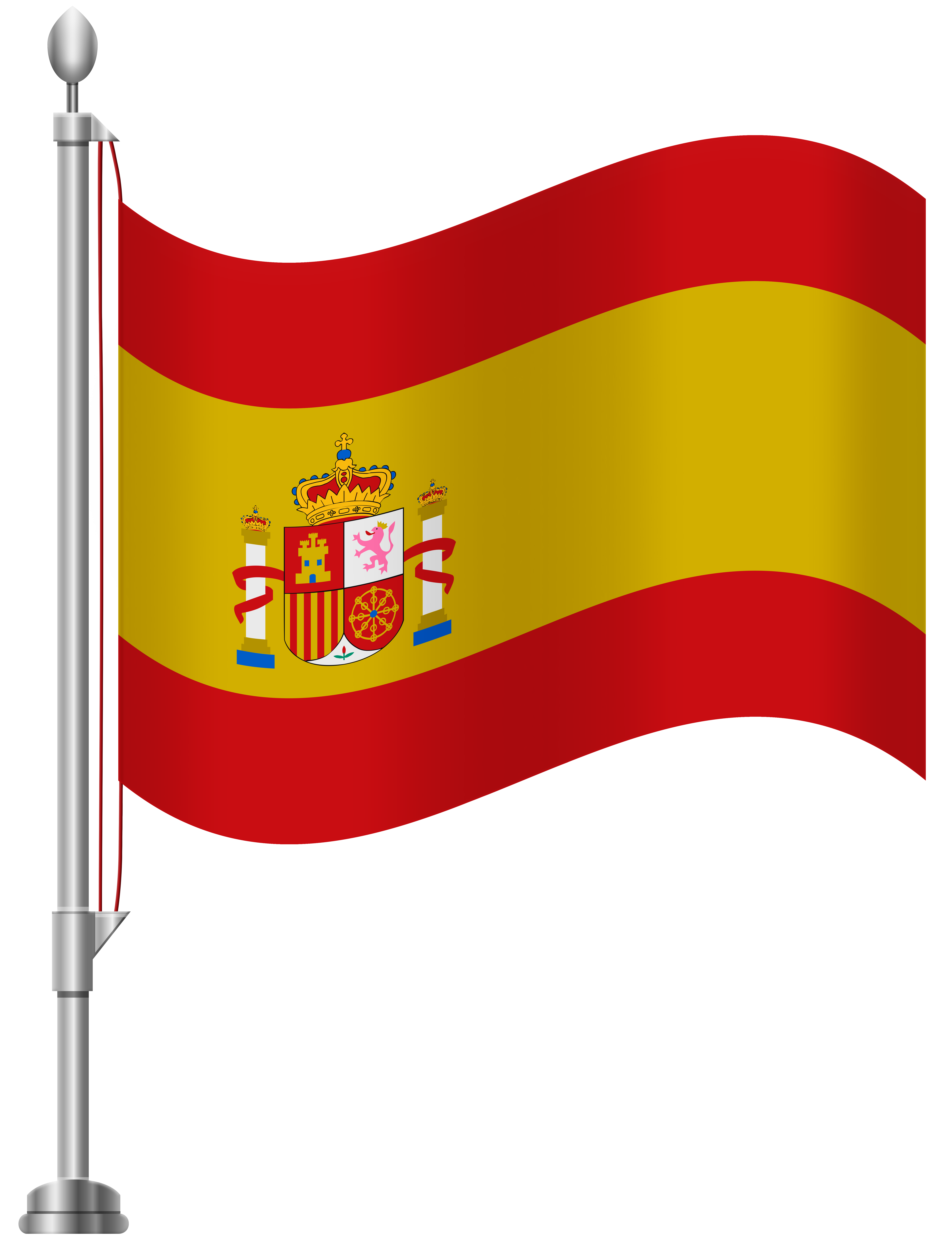 Clipart of spain jpg library download Spain Flag PNG Clip Art - Best WEB Clipart jpg library download