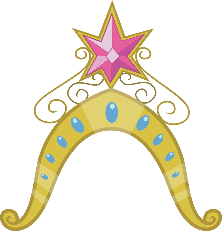 Twilight's Big Crown Thingy by pageturner1988 on DeviantArt vector black and white stock