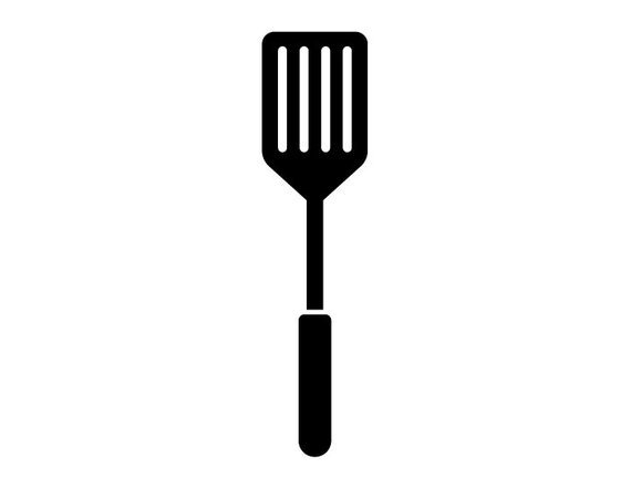 Spachelor clipart clip art black and white Spatula clipart 1 » Clipart Portal clip art black and white
