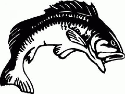Simple bass clipart black and white clipart download Fishing Clipart Black And White | Free download best Fishing Clipart ... clipart download