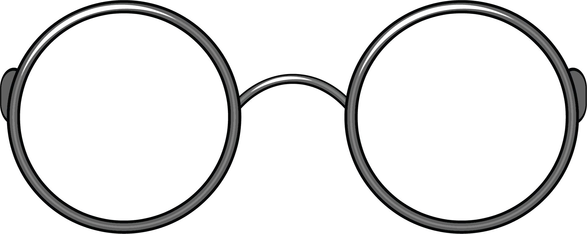 Black round glasses clipart graphic free stock Glasses Clipart | Free download best Glasses Clipart on ClipArtMag.com graphic free stock