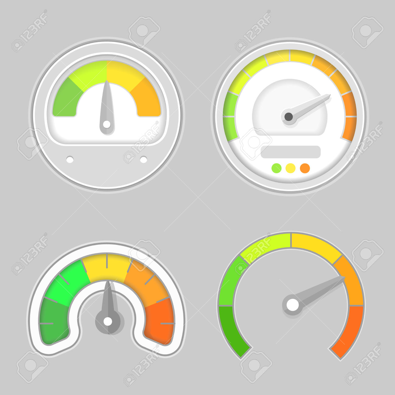 Clipart speed arrow clip freeuse download Gauge Meter Element. Speed Meter Icon Or Sign With Arrow ... clip freeuse download
