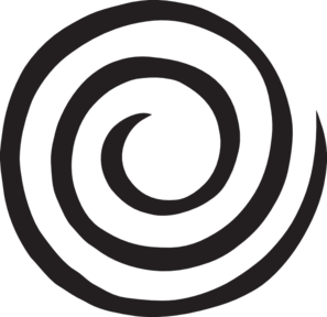 Clipart spiral picture black and white library Spiral Clip Art at Clker.com - vector clip art online, royalty free ... picture black and white library