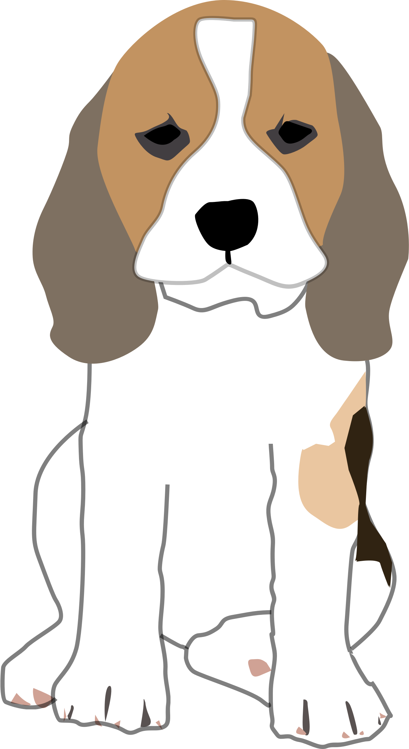 Clipart spoiled beagle image freeuse download Collection of Beagle clipart | Free download best Beagle clipart on ... image freeuse download
