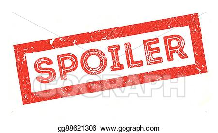 Clipart spoiler banner black and white download Vector Stock - Spoiler rubber stamp. Clipart Illustration gg88621306 ... banner black and white download