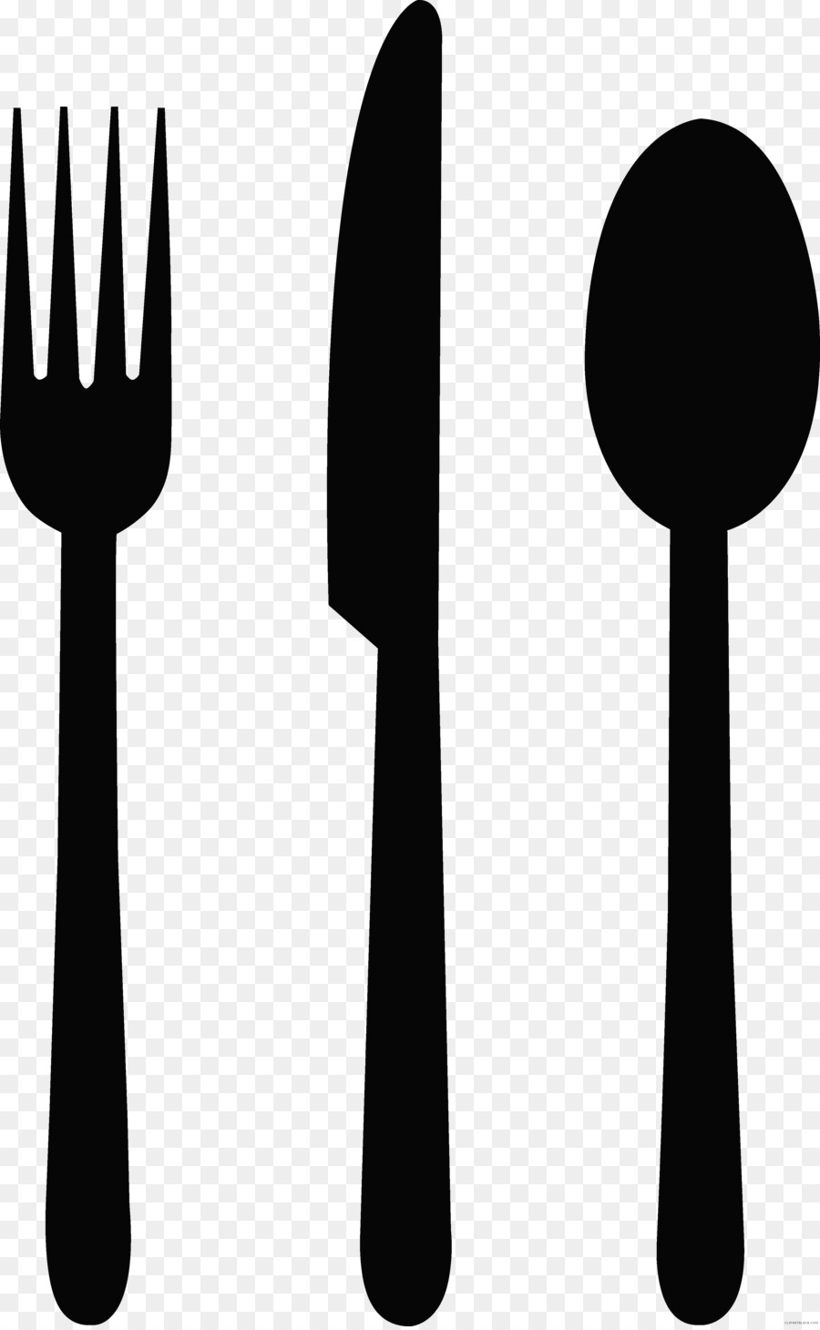 Clipart spoon and fork clipart library stock Kitchen Cartoon clipart - Spoon, Fork, Knife, transparent clip art clipart library stock
