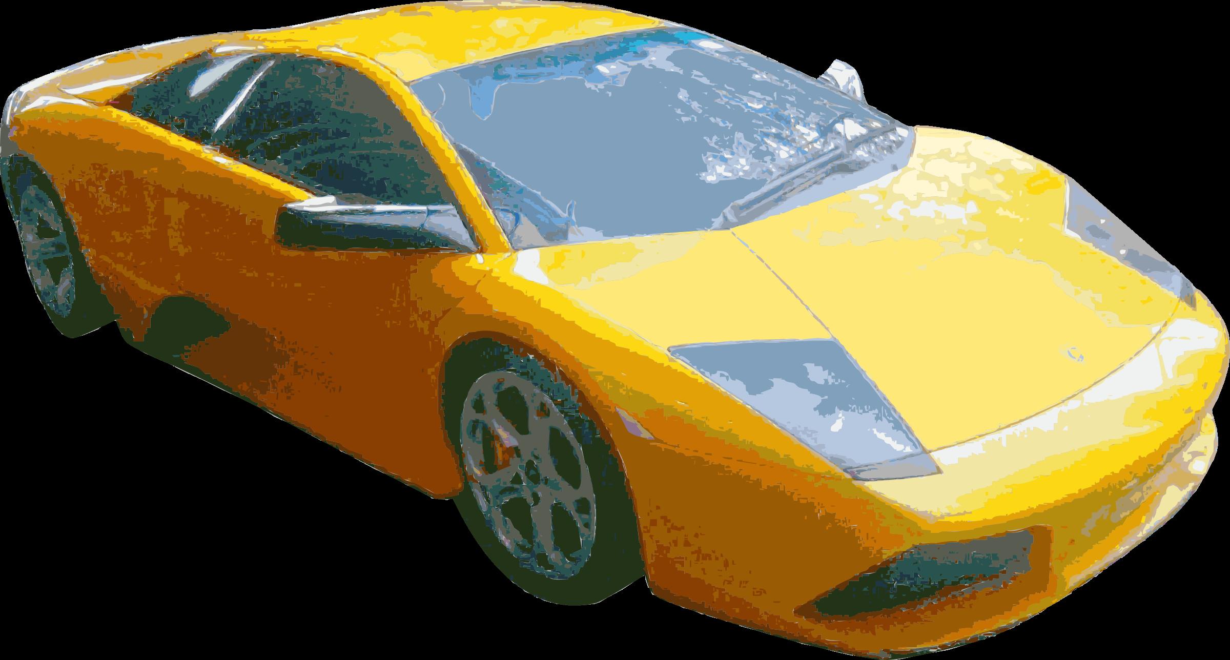 Clipart - Sports Car Cutout remix jpg transparent stock