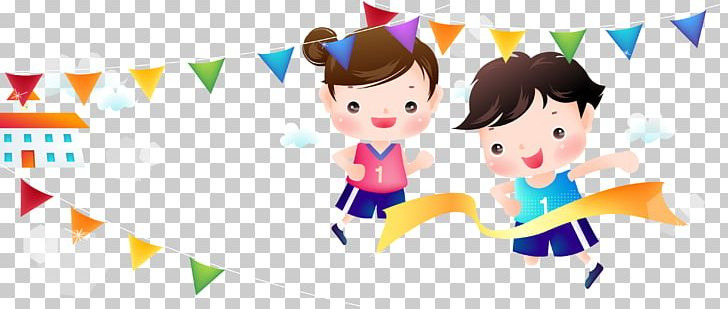 Clipart sports day free Schoolyard Sports Day Cartoon Illustration PNG, Clipart, Art ... free