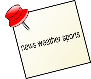 Clipart sports news online image free download News Weather Sports Clip Art at Clker.com - vector clip art online ... image free download