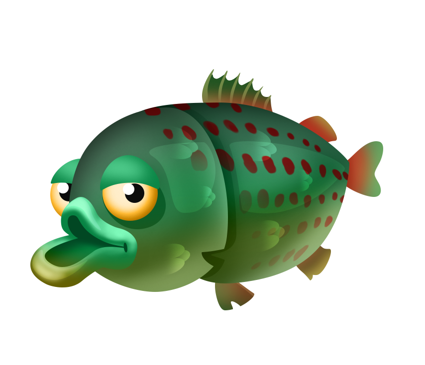 Clipart spotted fish black and white Fishing List | Hay Day Wiki | FANDOM powered by Wikia black and white