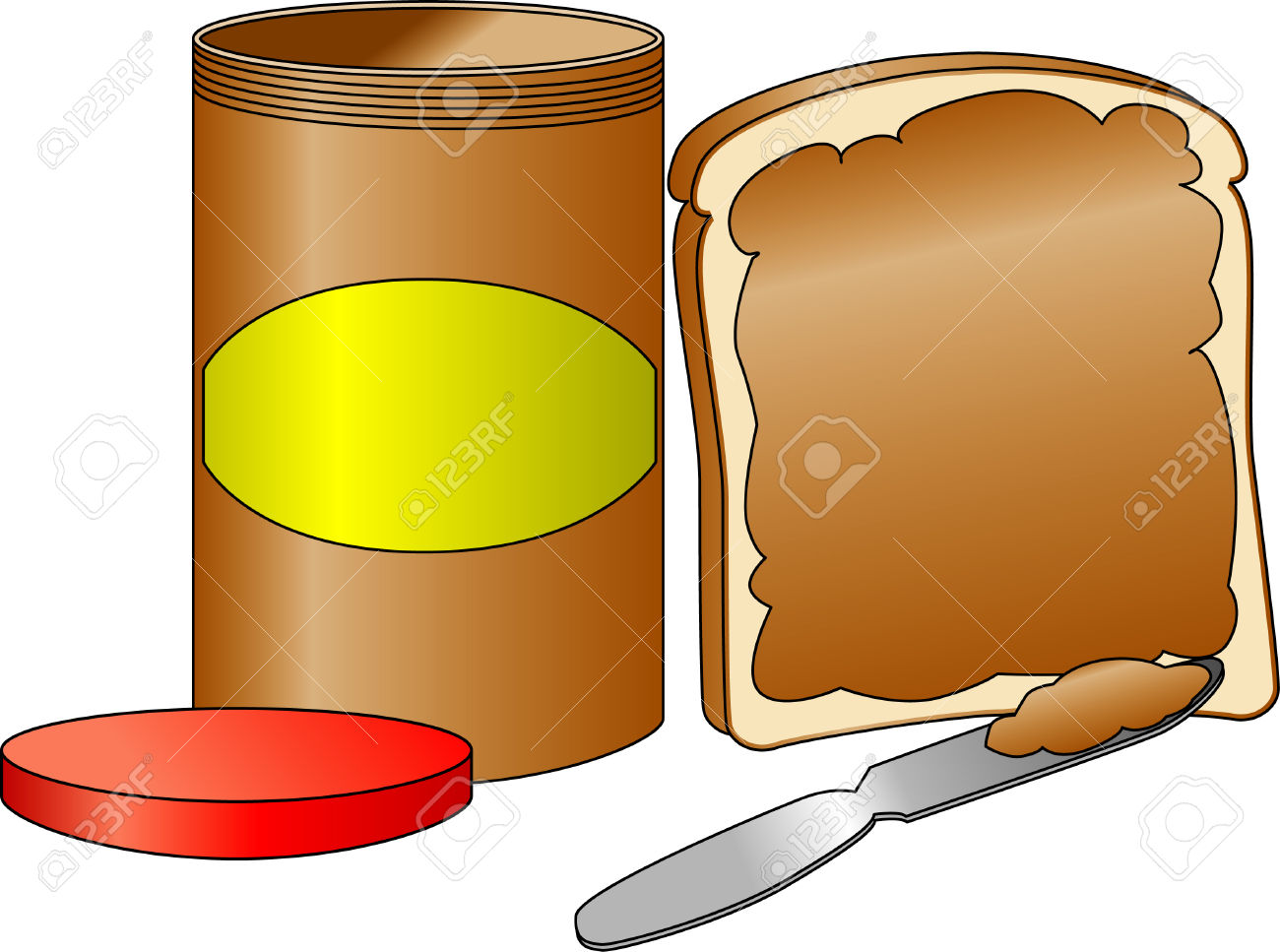 Spread clipart png freeuse stock spread: Bread with spread | Clipart Panda - Free Clipart Images png freeuse stock